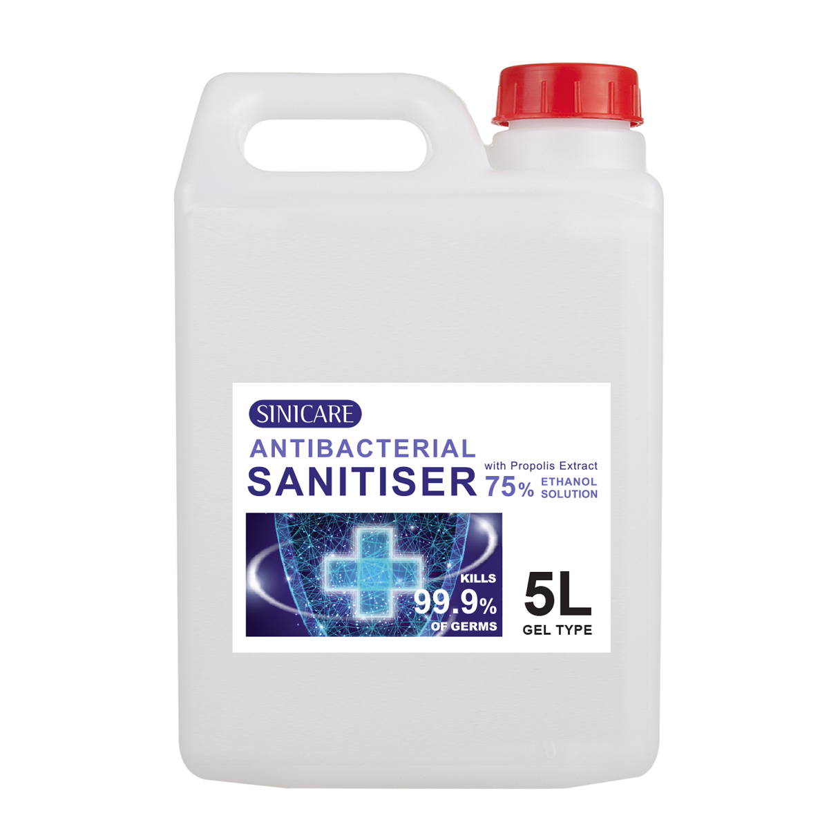 Sinicare Sanitiser 5L Gel type