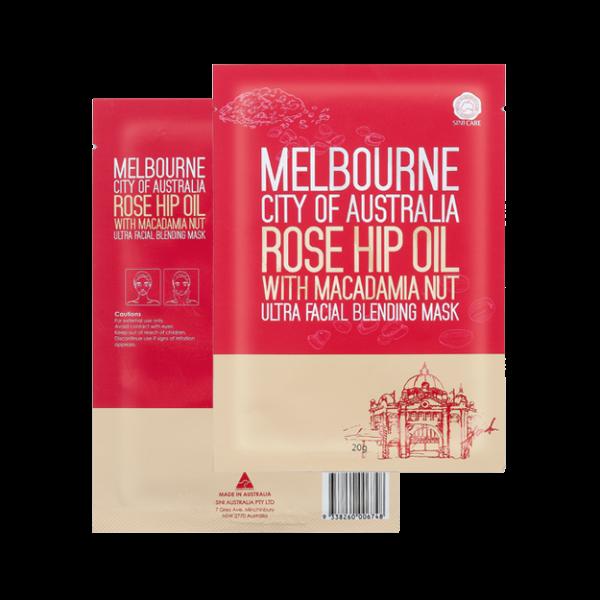 SINICARE Melbourne City of Australia Facial Mask 20g (10 sheets)