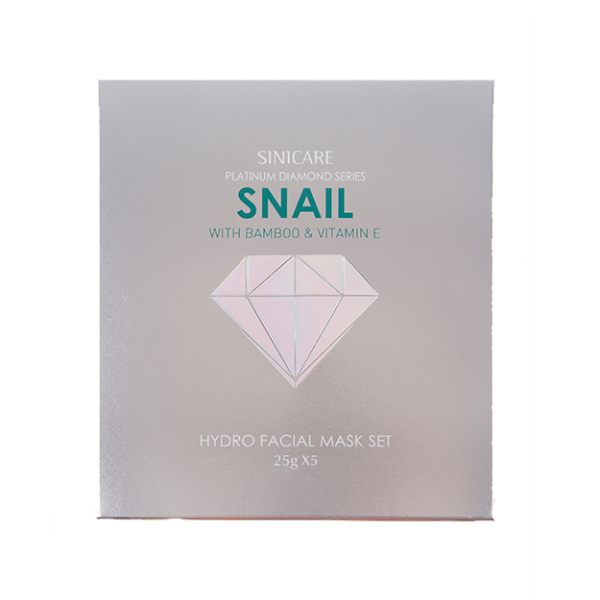 SINICARE Diamond Mask Snail 5 in 1