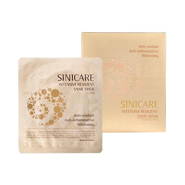 SINICARE Snail Mask 20g (5 sheets)