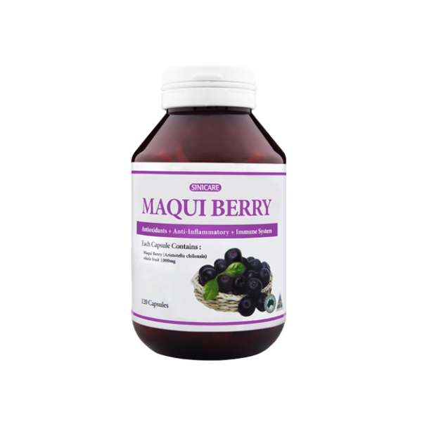SINICARE Maqui berry 1000mg 120s