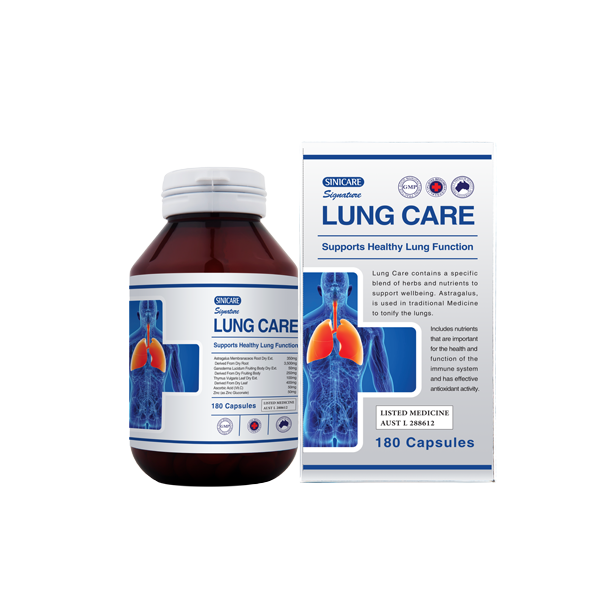 Sinicare Signature Lung Care 180s