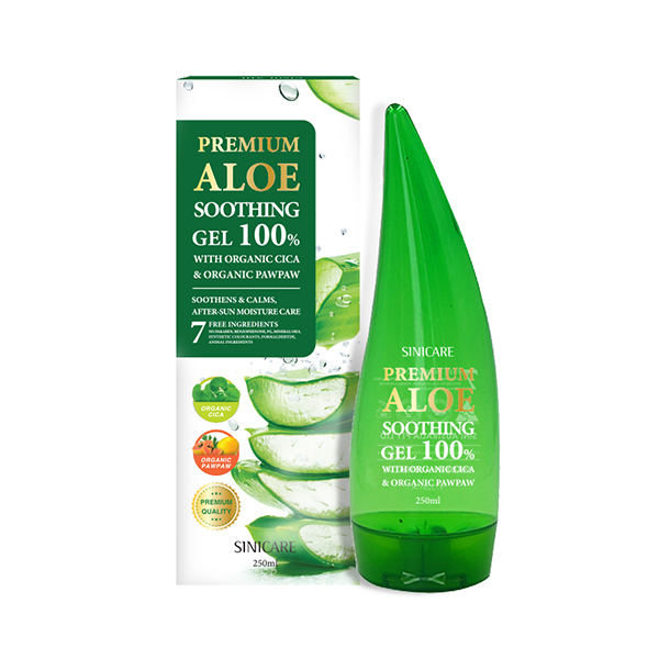 SINICARE Premium Aloe Soothing Gel 250ml