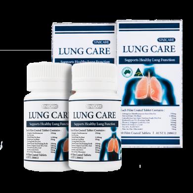 SINICARE Lung Care 120s (60s x2ea)