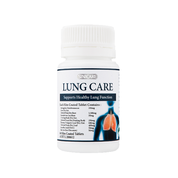 SINICARE Lung Care 120s (60s x2ea)