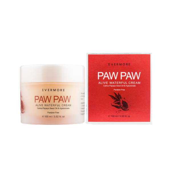 EVERMORE Pawpaw Alive Waterful Cream 100g