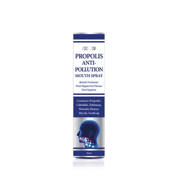 SINICARE Propolis Anti-pollution Mouth Spray 30ml