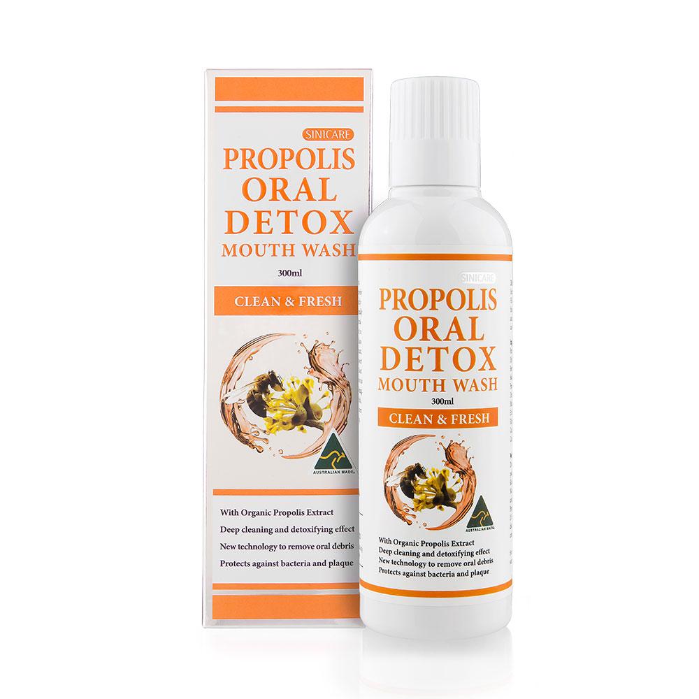 SINICARE Propolis Oral Detox Mouth Wash 300ml