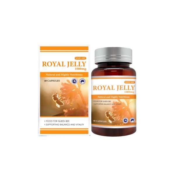 SINICARE Royal Jelly 1000mg 40s