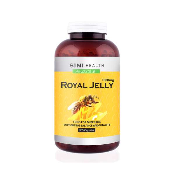 SINIHEALTH Royal Jelly 1000mg 365s